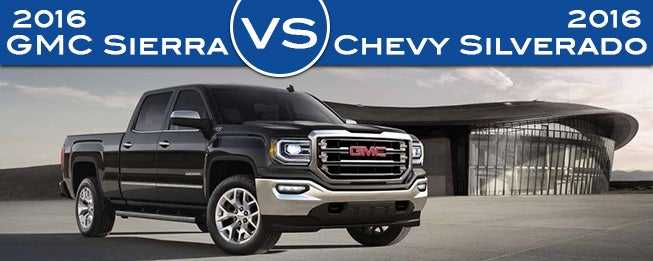 2016 Gmc Sierra Vs Chevrolet Silverado In Madison Wi